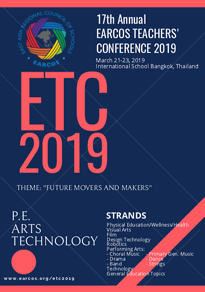 EARCOS Teachers' Conference 2019
